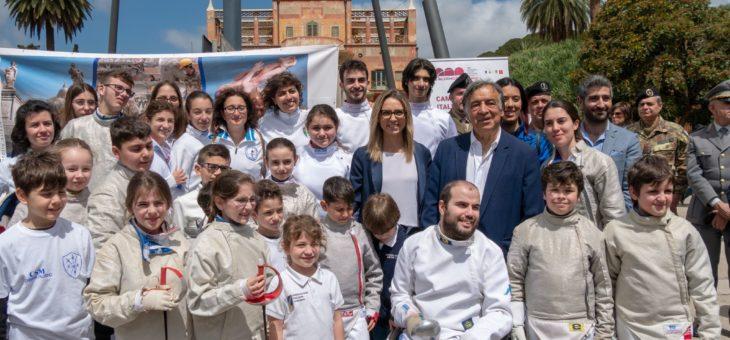 Una grande folla per la Campionessa Olimpica Valentina Vezzali